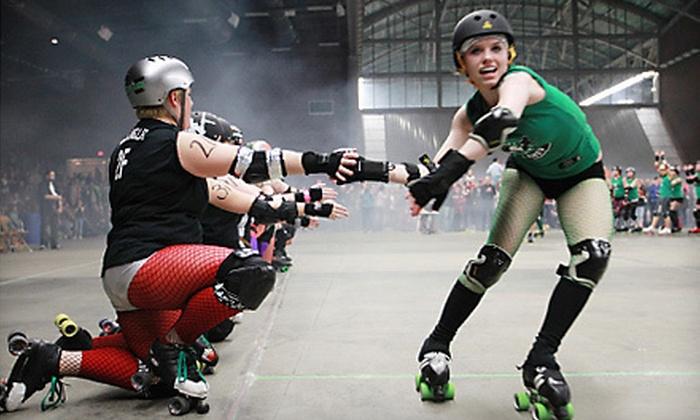 Des Moines Derby Dames - Des Moines: $14 for Two Tickets to See Des Moines Derby Dames Roller Derby at Jacobson Exhibition Center on April 14 ($28 Value)