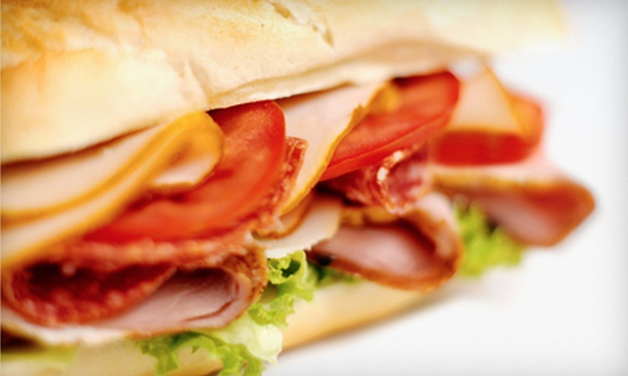 Planet Pizza and Subs - East Rockville: $20 Worth of Pizza, Calzones, and Subs