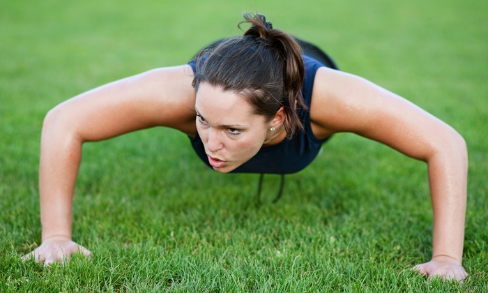 Livn' Fit Hard Body Boot Camp - Summerfield: Outdoor Boot-Camp Classes at FedExField from Livn' Fit Hard Body Boot Camp (51% Off). Two Options Available.