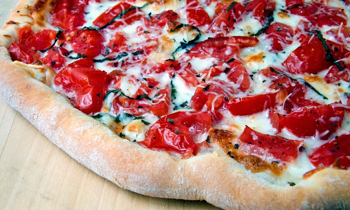 G T Pizza - Lutherville - Timonium: $11.99 for $3 Off a Jumbo 18-Inch Pizza with One Topping for Carry-Out from G. T. Pizza ($14.99 Value)