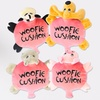 Woofie Cushion Dog Toys (3 Pack)