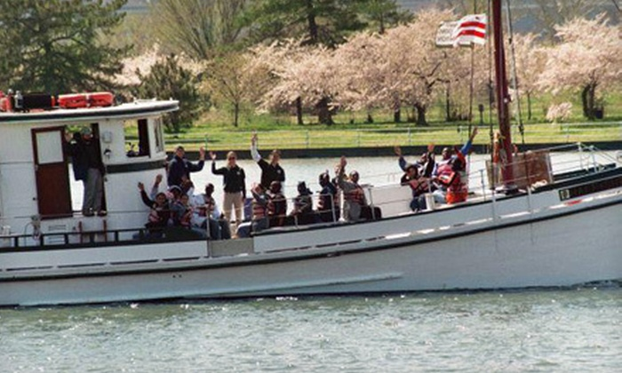 Living Classrooms Foundation - Navy Yard: $20 for Cherry Blossom Benefit Boat Tour for Two from Living Classrooms Foundation ($40 Value)