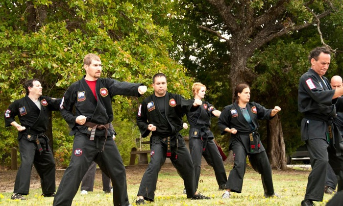 Chamberlain Studios of Self Defense - Multiple Locations: $59 for One Month of Unlimited Classes at Chamberlain Studios of Self Defense ($135 Value)