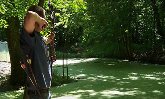 Country Woods Archery - DeWitt: Archery-Range Practice for Two or a Compound-Bow Tune-Up at Country Woods Archery in St. Johns (Half Off)