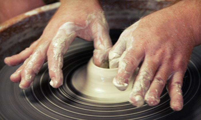 The Mud Room - Columbia: BYOB Pottery-Wheel Trial Session for One or Two at The Mud Room (Up to 53% Off)
