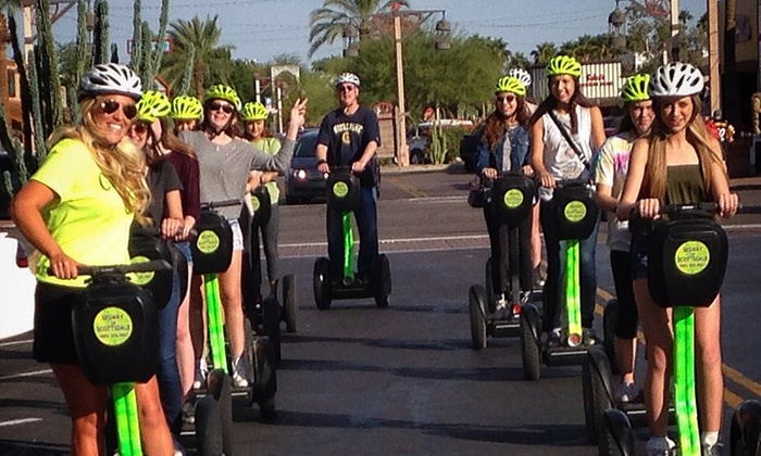 Segway of Scottsdale - Scottsdale: $49 for a Two Hour Old Town Christmas Lights Segway Tour from Segway of Scottsdale ($99 Value)