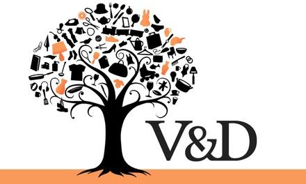 Waardebon van € 20 voor de online shop incl. sale van V&D géén minimale besteding!