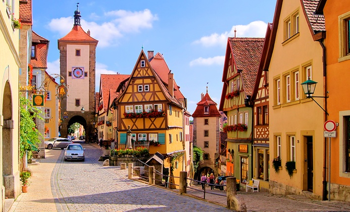 7-Day Germany Vacation with Air and Car Rental from Gate 1 Travel