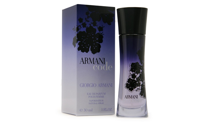 armani code pour femme eau de parfum groupon. Black Bedroom Furniture Sets. Home Design Ideas