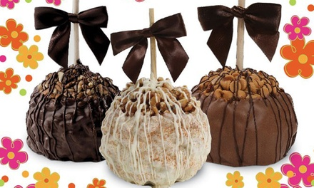 Two Personal or Sharable Gourmet Caramel Apples at Aly's Apples (50% Off)