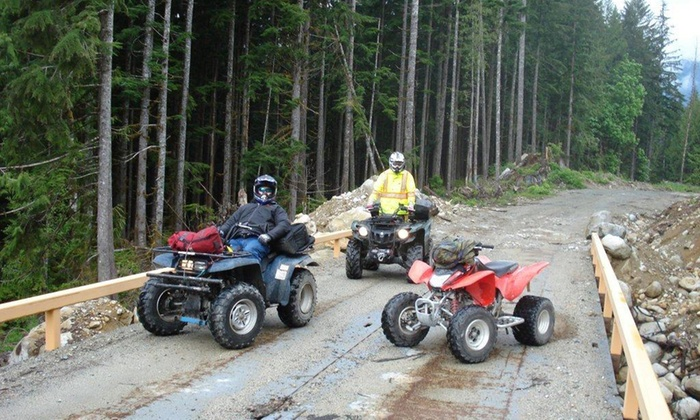 BC Power Sports - Agassiz: One-Hour ATV Tour of the Britannia Beach Mine Ghost Town for One, Two, or Four from BC Power Sports (Up to 46% Off)