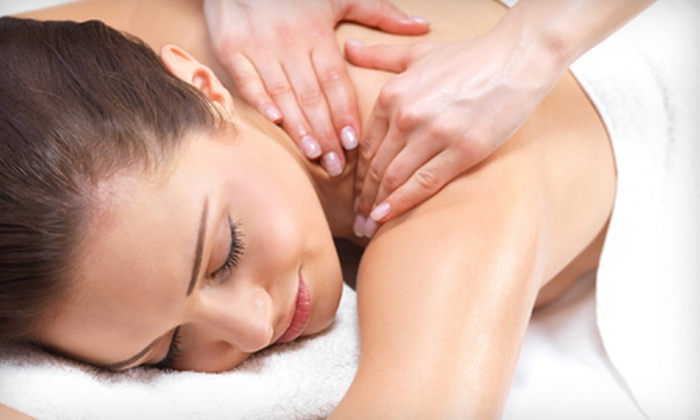 Beauty Essentials Day Spa - Leeds Gate/Colonial Village: Custom Massage for One, or Couples Massage with Jacuzzi Session, Mimosas, and Light Refreshments at Beauty Essentials Day Spa (Up to 52% Off)