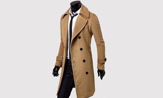 manteau l gant homme groupon shopping. Black Bedroom Furniture Sets. Home Design Ideas