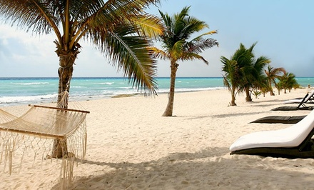 3-, 4-, 5-, or 7-Night All-Inclusive Stay for Two at Le Rêve Hotel & Spa in Playa del Carmen. Includes Taxes and Fees.