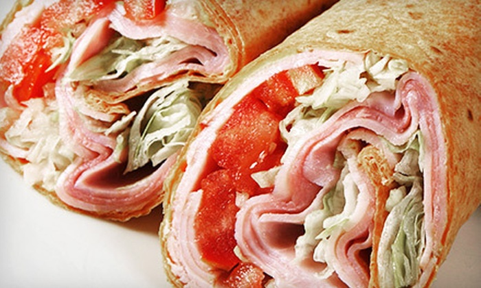 David's Grill & Bar - Downtown: $14 for a Sandwich Meal for Two with Drinks and Soups or Sides at David's Grill & Bar (Up to $32.88 Value)