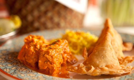 Indian Food at India Grill (Up to 50% Off). Two Options Available.