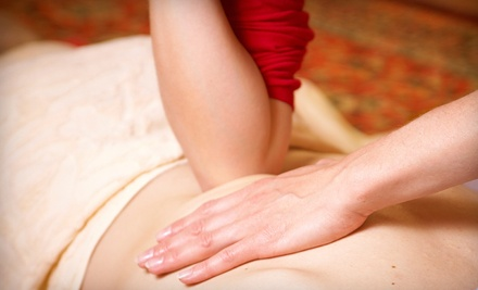 60-minute deep-tissue massage