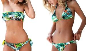 Sélection bikinis imprimé tropical