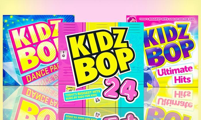 Bundle of 3 Kidz Bop CDs: $19.99 for a Bundle of 3 Kidz Bop CDs Including Kidz Bop 24 ($46.94 List Price). Free Shipping and Returns.