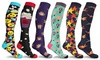 DCF Unisex Fun and Expressive Compression Socks (3-Pack)