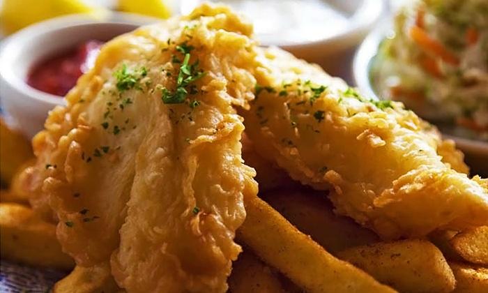 Portland Seafood Company - Washington Square: $15 for Fish and Chips for Two at Portland Seafood Company ($21.98 Value)