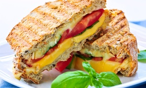 Lucy's Coffee House: Toastie, Drink and Cake For Two or Four from £9 at Lucy's Coffee House