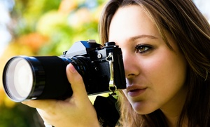 Studio Moment Photography: $138 for $250 One-Hour Engagement Photoshoot Groupon — Studio Moment Photography
