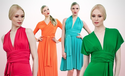 Convertible Transformer Top or Dress with Shipping from Von Vonni (Up to 56% Off)