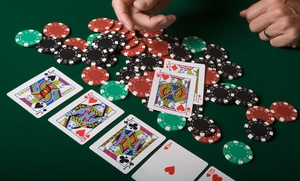 Encore Poker Club: $4 for One Admission to Encore Poker Club ($10 Value)