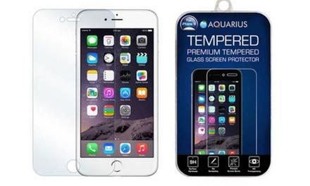 1 o 2 protectores de pantalla en cristal templado para iPhone 5, 6 o 6+