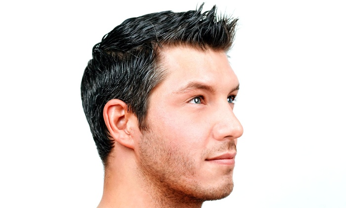 New Image Salon - Camille L. Jordan - Fort Oglethorpe: A Men's Haircut with Shampoo and Style from New Image Salon (55% Off)