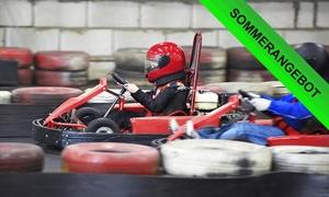 Beule Indoor Kart: 2x 10 Min. Kartfahren inkl. Softdrink und Sturmhaube für Zwei oder Vier bei Beule Indoor Kart (bis zu 53% sparen*)