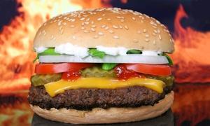Irenes Fassl: 2 oder 4 Riesenburger mit Pommes frites im Restaurant Irene's Fass'l ab 7,90 € (bis zu 53% sparen*)