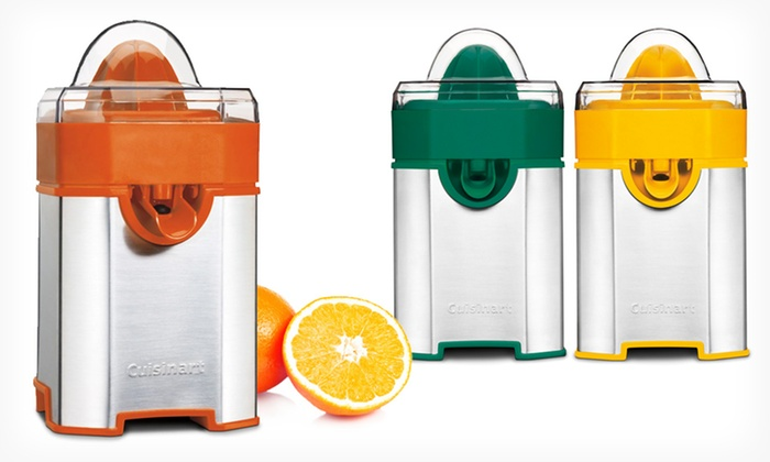 Cuisinart CCJ-500 Pulp Control Citrus Juicer: $29.99 for a Cuisinart Pulp Control Citrus Juicer ($55 List Price). Multiple Colors. Free Shipping and Returns.
