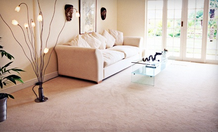 Carpet Cleaning for Three Rooms or Up to 15 Steps and One Landing from Hardwood Floors and More (Up to 72% Off)