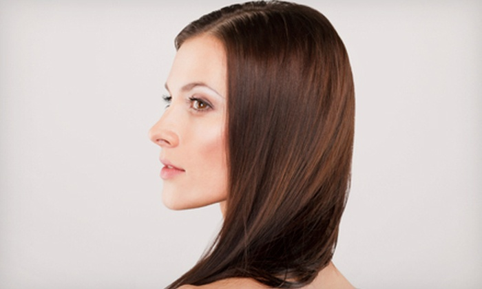 La Coupe Hair Salon - Colonial Town Center: Keratin Hair-Straightening Treatment with or Without Haircut at La Coupe Hair Salon (Up to 72% Off)
