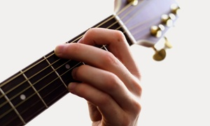 Bach To Rock: Two or Four Private Music Lessons, or a Music-Themed Birthday Party at Bach To Rock (Up to 73% Off)