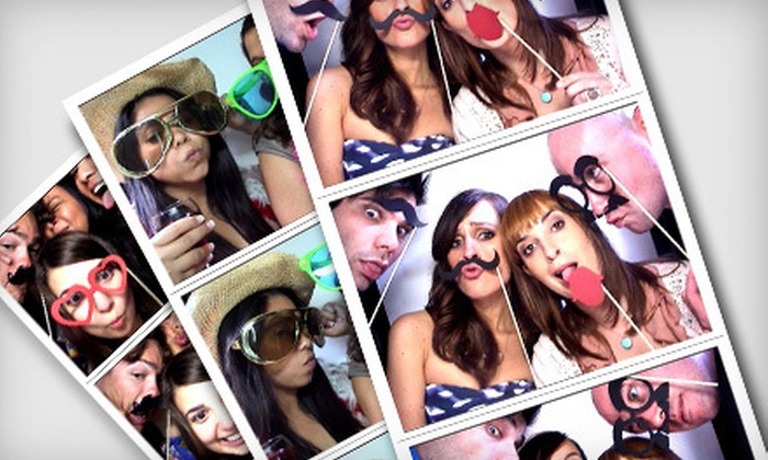 OC Photo Booth Rental - Orange County: Three- or Four-Hour Photo-Booth Rental from OC Photo Booth Rental (Up to 62% Off)