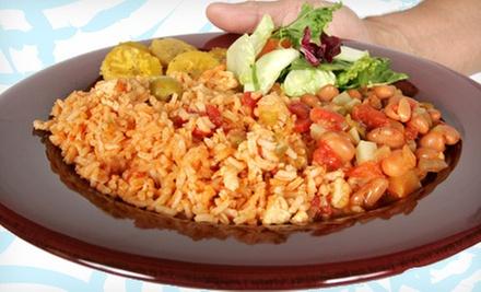 Senor Ed Puerto Rican Food Menu