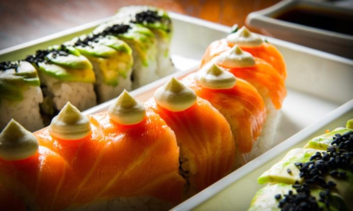 Calamari's Sushi & More - Eastside: $10 for $20 worth of Sushi at Calamari's Sushi & More