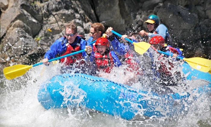 White Cloud Rafting Adventures - Stanley: Half-Day Rafting Trip on Salmon River for One, Two, or Six from White Cloud Rafting Adventures (Up to 56% Off)
