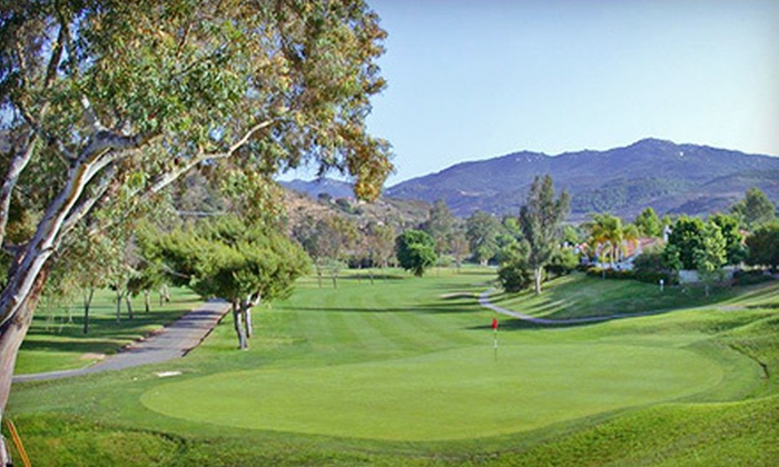 Castle Creek Country Club - Valley Center: $59 for an 18-Hole Round of Golf with Cart Rental for Two at Castle Creek Country Club (Up to $132 Value)