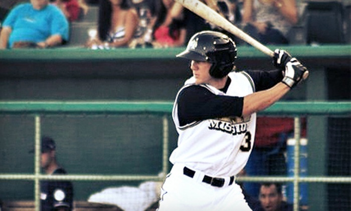 San Antonio Missions - Nelson Wolff Municipal Stadium: San Antonio Missions Baseball Games at Nelson W. Wolff Municipal Stadium (Up to 64% Off). Three Options Available.
