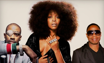 Hip-Hop Meets Soul with Erykah Badu, Doug E. Fresh, and Slick Rick on Sat., April 7 at 8PM: Reserved Seating - Hip-Hop Meets Soul with Erykah Badu, Doug E. Fresh, and Slick Rick in Chicago