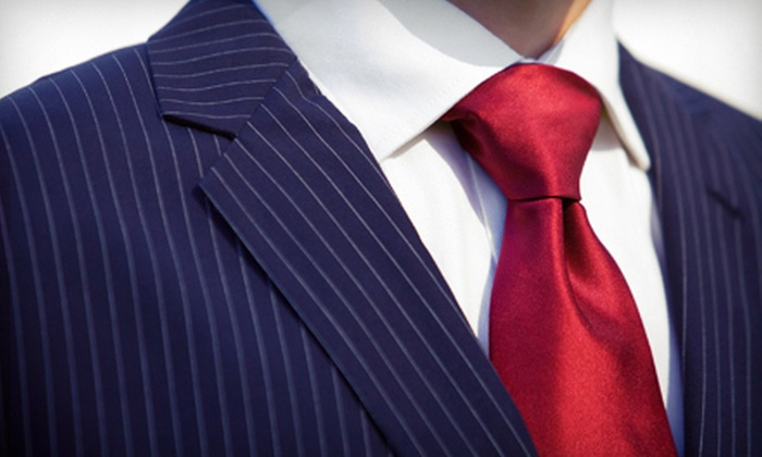 Hong Kong Custom Tailors - Scott's Addition: One or Three Tailored Shirts or a Tailored Wool Suit at Hong Kong Custom Tailors (Up to 63% Off)