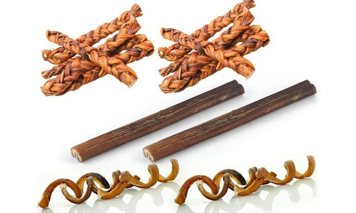 bully sticks variety pack 6 piece groupon. Black Bedroom Furniture Sets. Home Design Ideas