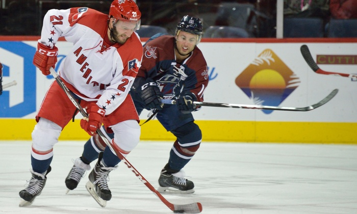 Allen Americans - Allen Event Center: Allen Americans Hockey Game at Allen Event Center on December 3 or 10 (Up to 44% Off). Three Seating Options Available.