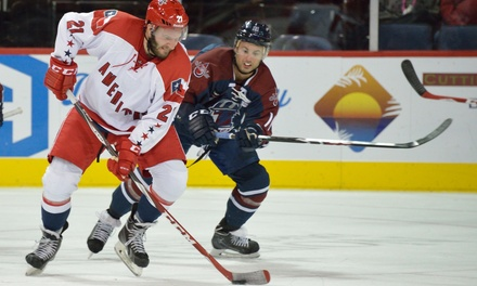 Allen Americans Hockey Game at Allen Event Center on December 3 or 10 (Up to 44% Off). Three Seating Options Available.