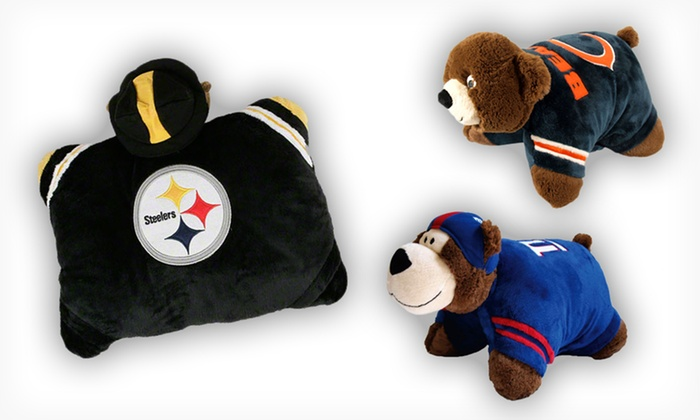 NFL Mini Pillow Pets: $12.99 for an NFL Mini Pillow Pet ($27.99 List Price). Multiple Teams Available. Free Returns.
