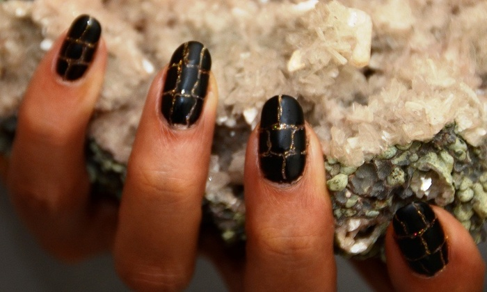 Merricures - Beverly Hills: A Manicure with Nail Design from Merricures (50% Off)